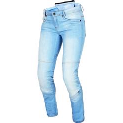 Macna Jenny, Jeans Damen - Grau - Kurz 30