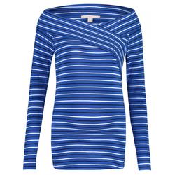 Langarmshirt   blau   S