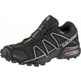Salomon Speedcross 4 GTX W black/black/metallic bubble blue 40 2/3