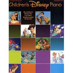 Children's Disney Piano als Buch von