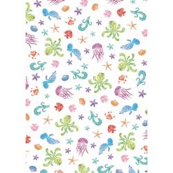 VBS Transparentpapier Unterwasserwelt, 50 x 60 cm