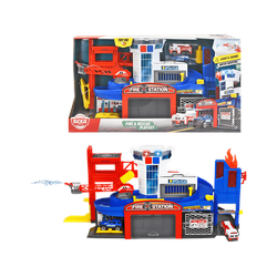 DICKIE TOYS Fire & Rescue Spielset inkl. 2 Spielzeugautos Spielzeugauto Mehrfarbig