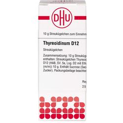 THYREOIDINUM D 12 Globuli 10 g