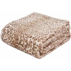 Wohndecke Leopard, Gözze, mit Leopardenmuster