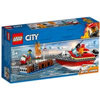 Lego City Feuerwehr am Hafen 60213