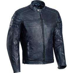 Ixon Spark Motorrad Lederjacke, blau, Größe M