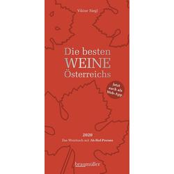Die besten Weine Österreichs 2020 als Buch von Viktor Siegl