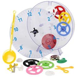 Techno Line Model kids clock Mechanisch Wanduhr Lernbausatz 20cm x 3.5cm Transparent