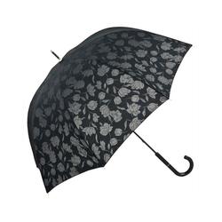 von Lilienfeld Stockregenschirm Regenschirm graue Rosen