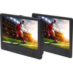 Denver Portabler DVD-Player MTW-1086TWIN Portabler DVD-Player (DVD-Player)