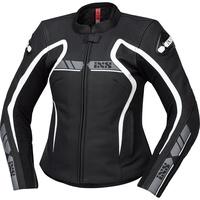 IXS RS-600 1.0 LD Sport Damen Lederjacke grau Damen Größe 36