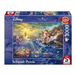 Schmidt Spiele Puzzle Disney Kleine Meerjungfrau, Arielle, 1000 Puzzleteile