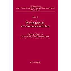 Die Grundlagen der slowenischen Kultur - Buch