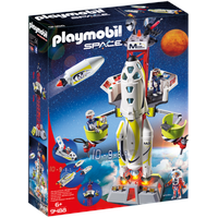 Playmobil Space Mars-Rakete mit Startrampe 9488