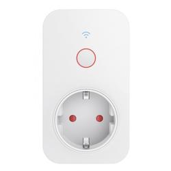 Hama 176565 WiFi-Steckdose mit integriertem Strommessgerät, 3.680 W