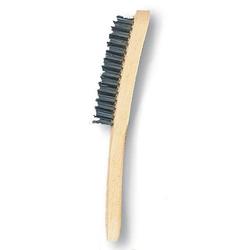 Handbürste Drahtbürste Handdrahtbürste Stahldrahtbürste VA-Stahl 2,3,4,5 reihig - Variante:4-reihig
