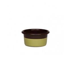 Riess Muffinform Schokoladenbraun/Pistazie Ø 8 cm H 4 cm