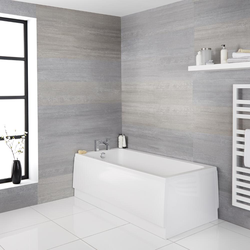Standard Badewanne 170 x 75cm ohne Verkleidung, Acryl