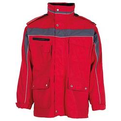 PLANAM unisex Winterjacke PLALINE rot Größe XL