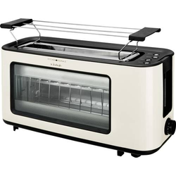 TKG Team Kalorik TKG TO 1012 KTO Toaster mit Bagel-Funktion Creme-Weiß