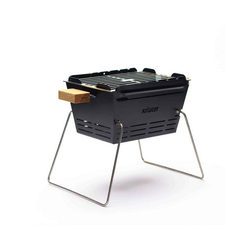KNISTER Holzkohlegrill Grill small - mobiler Holzkohlegrill - MADE IN GERMANY