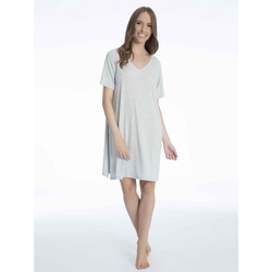 DKNY Sleepshirt Sleepshirt, Länge 86cm grau S = 36/38