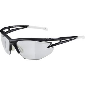 ALPINA EYE-5 HR VL+ Sportbrille, Unisex – Erwachsene, black matt-white, one size