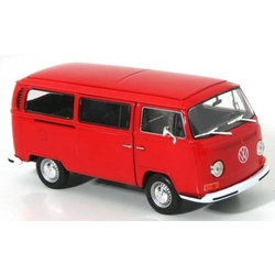 Welly VW Bus T2 1972 rot 1:24 Modellauto