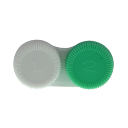 Kontaktlinsenbehälter grün