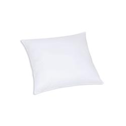 F.A.N. Faserbällchen-Kissen Kansas in weiß, 80 x 80 cm