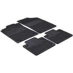 WALSER Set: Autogummimatte Easyfit , (4-tlg.), Gr. 1 schwarz
