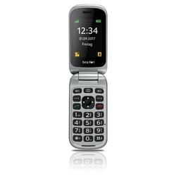 Beafon SL590 - Seniorenhandy - red silver Seniorenhandy (2,4 Zoll, 16 GB Speicherplatz, 3 MP Kamera)