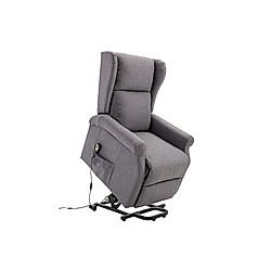 Fernsehsessel mit Aufstehhilfe (Farbe: grau)