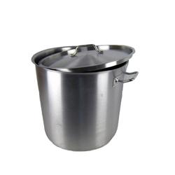 Airbrush-City Kochtopf Kochtopf Edelstahl 50 Liter mit Deckel Gastro Topf, (1-tlg)