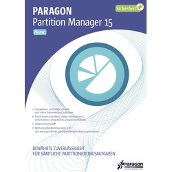 Paragon Partition Manager 15 Home #Key (ESD)