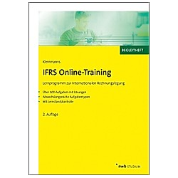 IFRS Online-Training, CD-ROM
