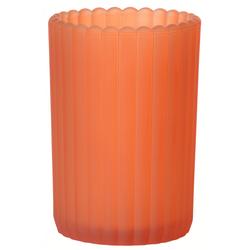 x Duni Teelichtglas Patio, gefrostet mandarin - 2x6 Stück
