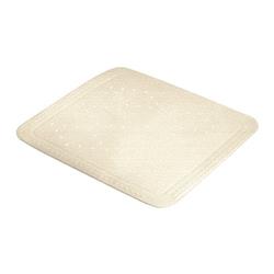 Meusch moderne Duscheinlage Sandbeige im Foot Design aus Kautschuk