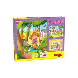 Haba Puzzle HABA 305916 Puzzles Prinzessin Valerie, 3 x 24, Puzzleteile