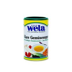 Klare Gemüsesuppe mit Meersalz 1/2 Dose - wela