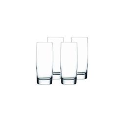 Nachtmann Longdrinkglas Vivendi Longdrinkglas 4er Set, Kristallglas