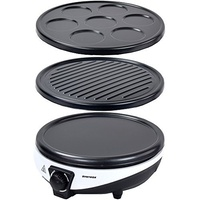 Syntrox 3 in 1 Crepemaker Pancakemaker Grill