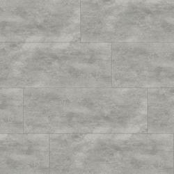 KWG Klick-Vinyl - Antigua Stone Cement grey gefast - Vinylboden mit Korktrittschalldämmung