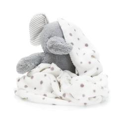 Kinderdecke Plüschtier Set Löwe mit Decke, Fillikid grau