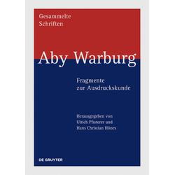 Aby Warburg - Fragmente zur Ausdruckskunde als Buch von Aby M. Warburg