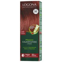 Logona CremeE 220 Weinrot Haarfarbe 150ml Damen