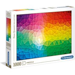 Clementoni® Steckpuzzle Puzzle 39521 - Gradient (1000 Teile), 1000 Puzzleteile