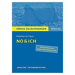 Delphine de Vigan: No & ich. Delphine De Vigan  - Buch