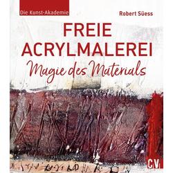 Freie Acrylmalerei als Buch von Robert Süess