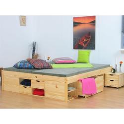 ebuy24 Bett Claas Doppelbett 140x200 cm einschl. Lattenroste,